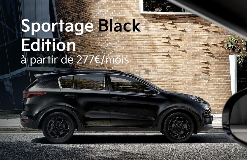 Découvrez le nouveau kia sportage black edition