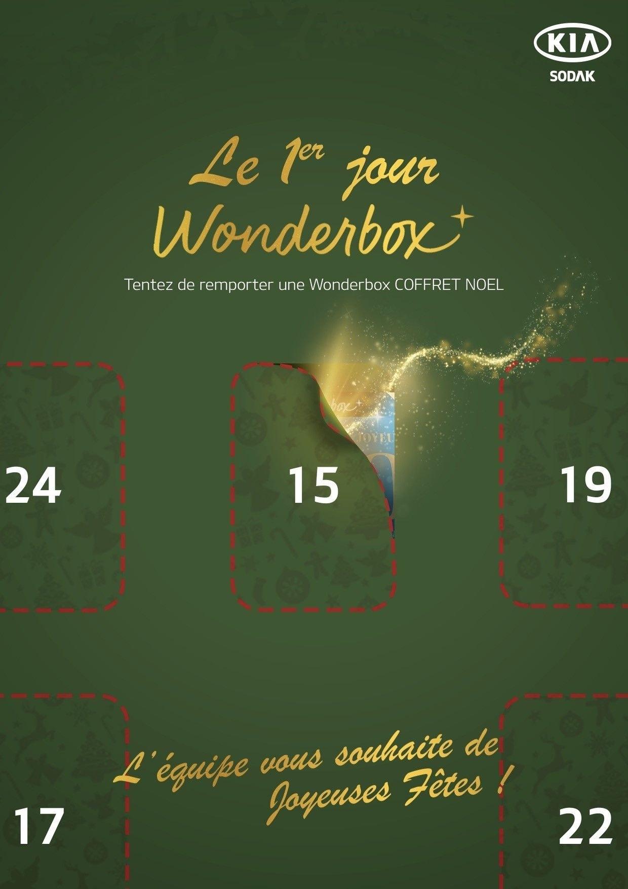 Les 10 jours wonderbox